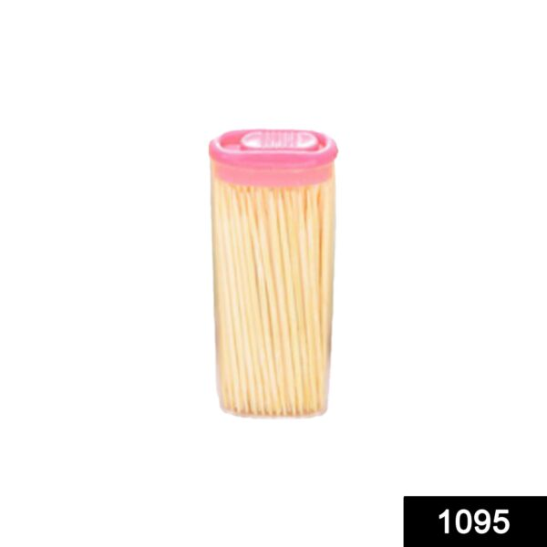 1095 Bamboo Toothpicks with Dispenser Box - Bulkysellers.com