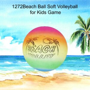 1272 Beach Ball Soft Volleyball for Kids Game - Bulkysellers.com