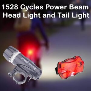 1528 Cycles Power Beam Head Light and Tail Light - Bulkysellers.com