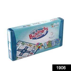 1906 Fun Filled Business Game with Plastic Money Coins for Young Businessmen - DeoDap