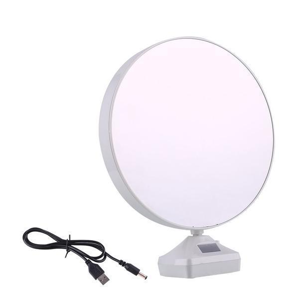 0860 Plastic 2 in 1 Mirror Come Photo Frame with Led Light - Bulkysellers.com