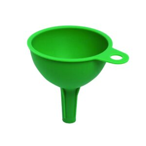 0722 Silicone Funnel For Pouring Oil, Sauce, Water, Juice And Small Food-Grains - Bulkysellers.com