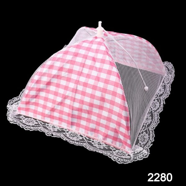 2280 Food Covers Mesh Net Kitchen Umbrella Practical Home Using Food Cover (Multicolour) - DeoDap