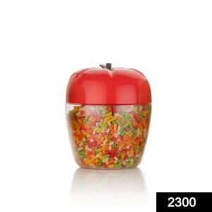 2300 Jar/Container with Apple Shape for Kitchen Storage (250Ml) - DeoDap