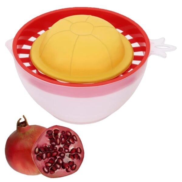 2304 Plastic Pomegranate Seeds Extractor Removal And Mosambi Orange Juicer - DeoDap
