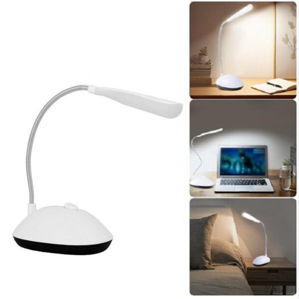 0255 Portable LED Reading Light Adjustable Dimmable Touch Control Desk Lamp - Bulkysellers.com