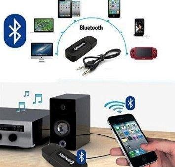 0531 USB Wireless/Bluetooth 3.5mm Aux Audio Receiver Adapter - Bulkysellers.com