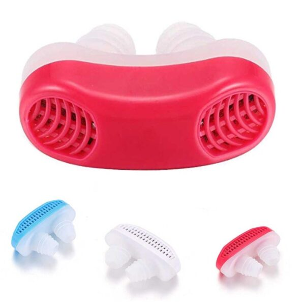 0353 - 2 in 1 Anti Snoring and Air Purifier Nose Clip for Prevent Snoring and Comfortable Sleep - Bulkysellers.com