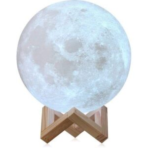 1205 3D Moonligt Lamp with Touch Control Adjust - Bulkysellers.com