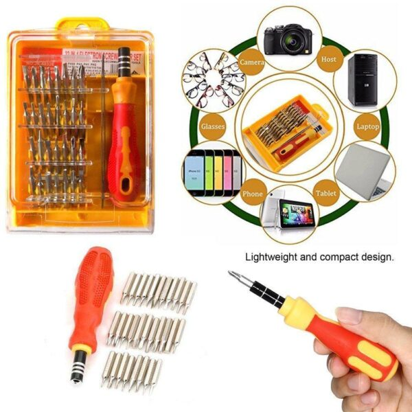 0430 Screwdriver Set  32 in 1 with Magnetic Holder - Bulkysellers.com