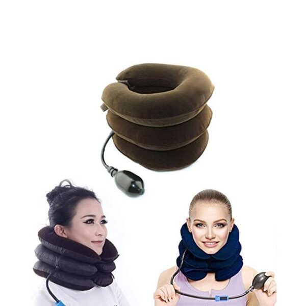 0514 Three Layers Neck Traction Pillow - Bulkysellers.com