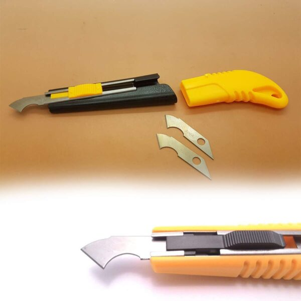 0418 Multi-Use Plastic Cutter with Plastic Cutting Blade and Precision Knife Blade - Bulkysellers.com