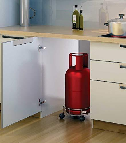 0118 Stainless Steel Gas Cylinder Trolley - Bulkysellers.com