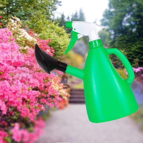 1077 2 in 1 Watering Can with Hand Triggered Sprayer for Plants - Bulkysellers.com