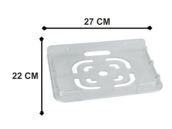 3602 Plastic Setup Box Stand/Wall Mount and Remote Holder - Bulkysellers.com