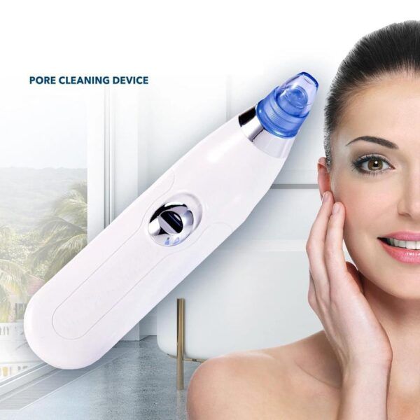 0351 -4 In 1 Blackhead Whitehead Extractor Remover Device Acne Pimple Pore Cleaner (Vacuum Suction Tool) - Bulkysellers.com