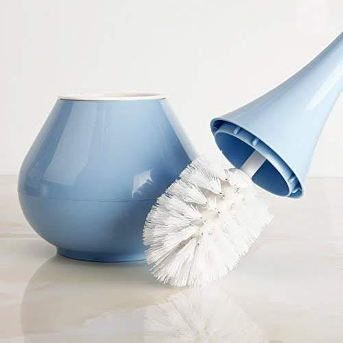 0223 -2 in 1 Plastic Cleaning Brush Toilet Brush with Holder - Bulkysellers.com