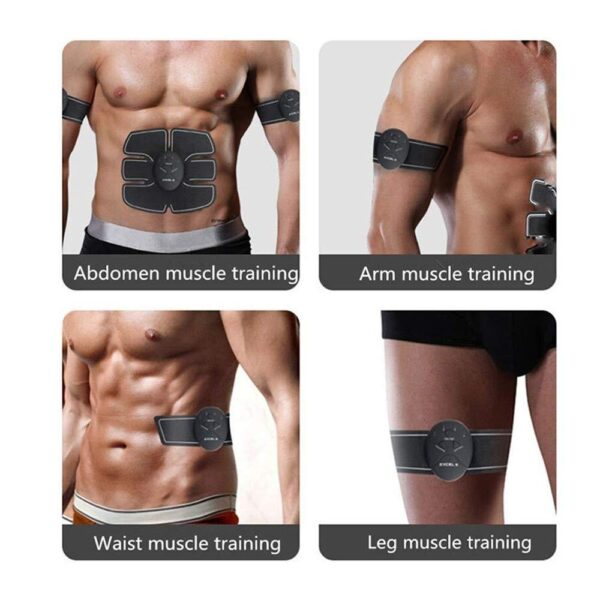 0390 Abdominal & Muscle Exerciser Training Device Body Massager - Bulkysellers.com