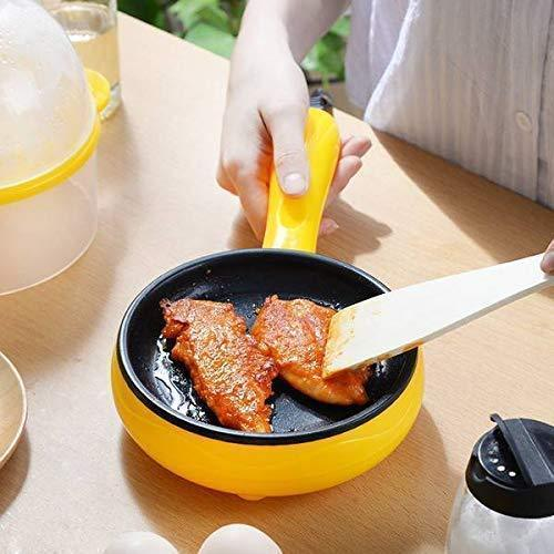 2150 Multi functional Electric 2 in 1 Egg Frying Pan with Egg Boiler Machine Measuring Cup with Handle - Bulkysellers.com