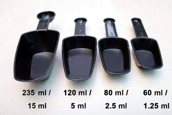 2178 Plastic Measuring Cup Set  fort Kitchen Utility (4pc) (With box) - Bulkysellers.com