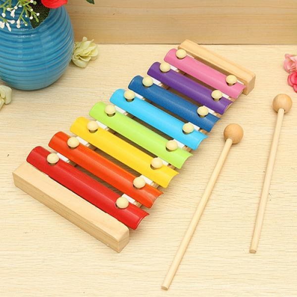 1912 Wooden Xylophone Musical Toy for Children (MultiColor) - DeoDap