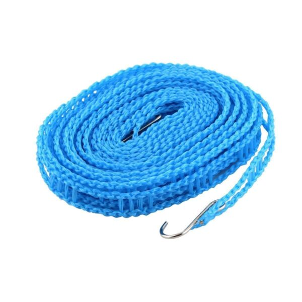 0190 Clothesline Drying Nylon Rope with Hooks - Bulkysellers.com