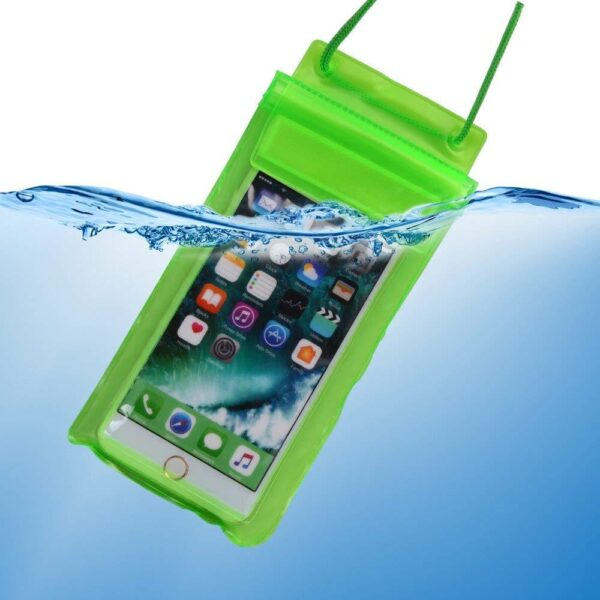 0601 Waterproof Mobile Pouch (6.2 inch , Random Colour) - Bulkysellers.com