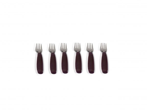 2094 Stainless Steel Cutlery Set with Plastic Storage Box (24 Pieces - Brown) - Bulkysellers.com