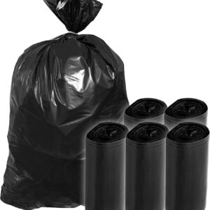 1504 Disposable Eco-friendly Garbage/Dustbin/Trash Bag (Pack of 30) (Size 19X21) - Bulkysellers.com