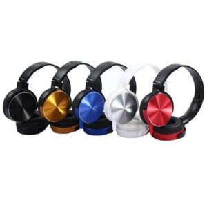 0306 Extra Bass Stereo Headphone with Mic (3.5 mm Jack) - Bulkysellers.com