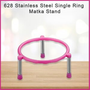 0628 Stainless Steel Single Ring Matka Stand - Bulkysellers.com