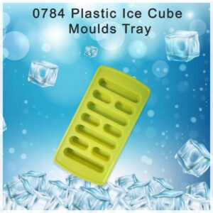 0784 Plastic Ice Cube Moulds Tray - Bulkysellers.com