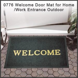 0776 Welcome Door Mat for Home/Work Entrance Outdoor - Bulkysellers.com