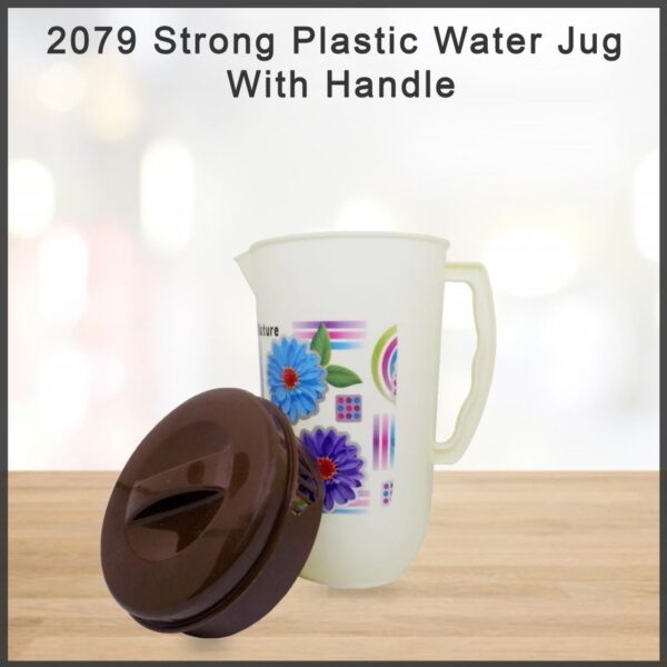 2079 Strong Plastic Water Jug With Handle - Bulkysellers.com
