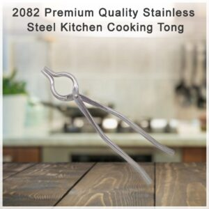 2082 Premium Quality Stainless Steel Kitchen Cooking Tong - Bulkysellers.com