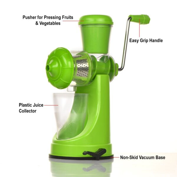 7013 Manual Fruit Vegetable Juicer with Strainer (Multicolour) - DeoDap