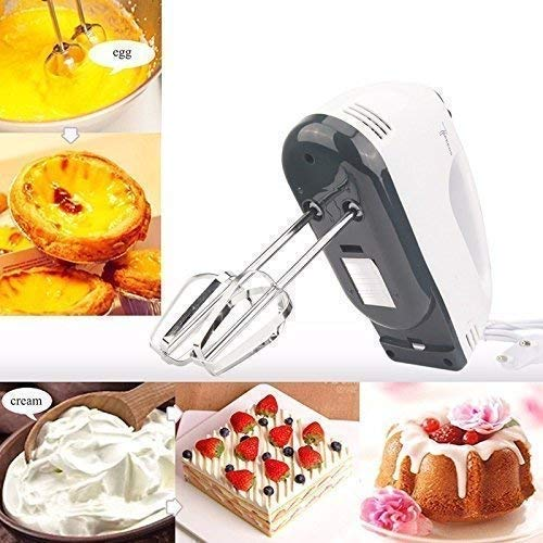 2143 Compact Hand Electric Mixer/Blender for Whipping/Mixing with Attachments - Bulkysellers.com