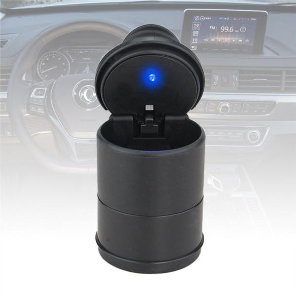 0876 Portable LED Ashtray Cup Holder for Cars/Truck/Auto - Bulkysellers.com