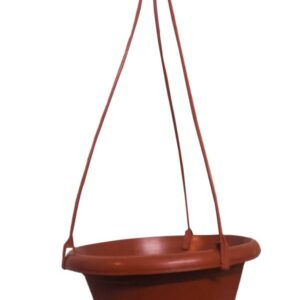0840 Hanging Flower Pot with Rope - Bulkysellers.com