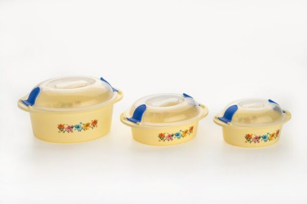 2162 Hot N Fresh Insulated Plastic Casserole Gift Set (3 Pieces) - Bulkysellers.com