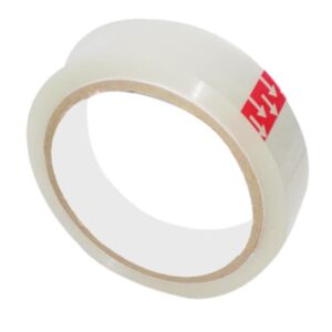 1543 Transparent Adhesive Strong Tape Rolls 1 Inch for Multipurpose Packing Use - Bulkysellers.com