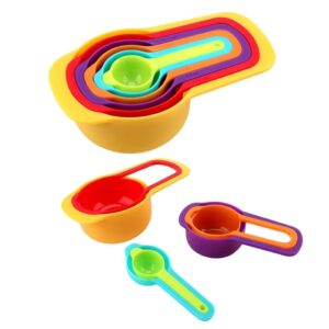 0811 Plastic Measuring Spoons for Kitchen (6 pack) - Bulkysellers.com
