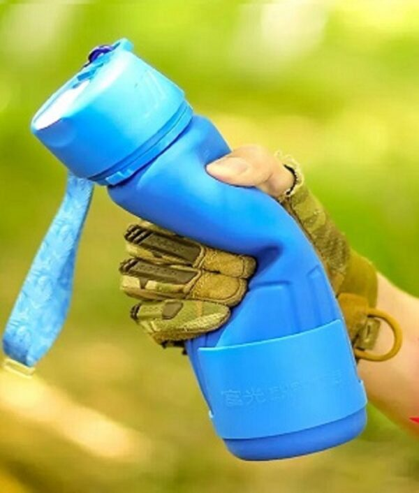 0326 Silicone Collapsible/Foldable Water Bottle - Bulkysellers.com