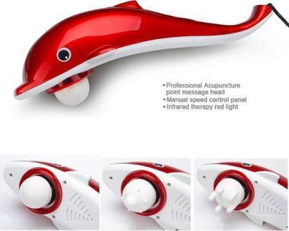 1221 Dolphin Handheld Body Massager to Aid Pain and Stress - Bulkysellers.com