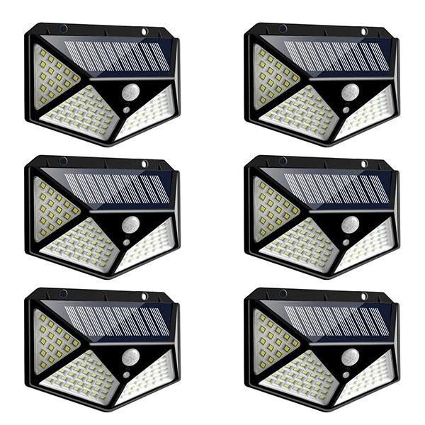 1255 Solar Lights for Garden LED Security Lamp for Home, Outdoors Pathways - Bulkysellers.com